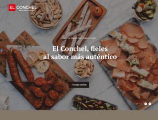 elconchel.com screenshot