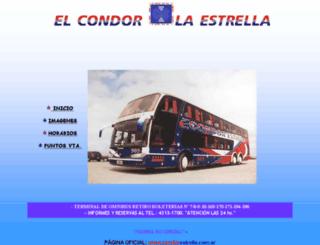 elcondorlaestrella.com.ar screenshot