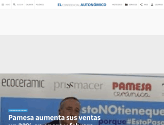 elconfidencialautonomico.com screenshot