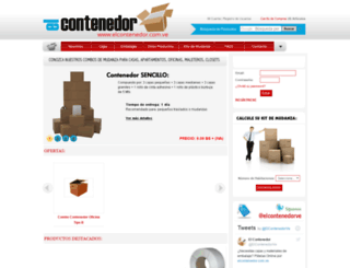 elcontenedor.com.ve screenshot