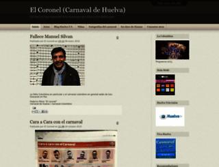 elcoroneltapioca.blogspot.com screenshot