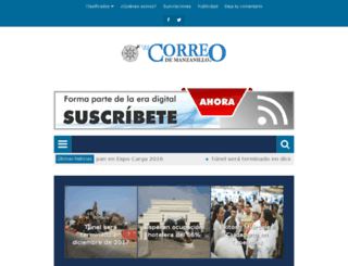elcorreodemanzanillo.mx screenshot
