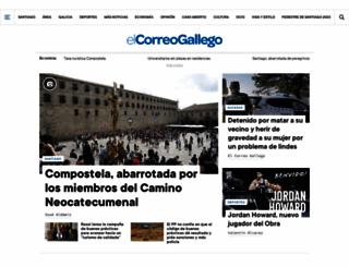 elcorreogallego.es screenshot