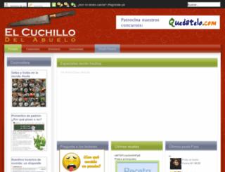 elcuchillodelabuelo.com screenshot