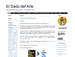 eldadodelarte.blogspot.com screenshot