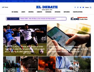 eldebate.com.ar screenshot