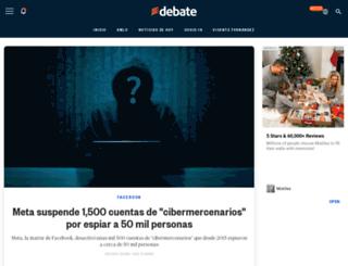 eldebate.com.mx screenshot