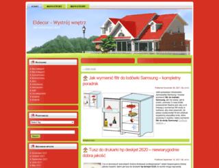 eldecor.com.pl screenshot
