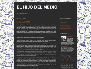 eldelmedio.blogspot.com screenshot