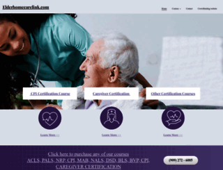elderhomecarelink.com screenshot