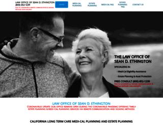 elderlawsite.com screenshot