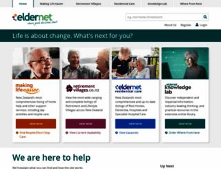 eldernet.co.nz screenshot