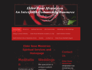 elderroseministries.org screenshot