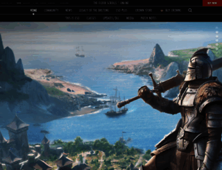 elderscrollsonline.com screenshot