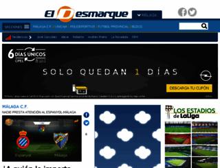 eldesmarquemalaga.com screenshot