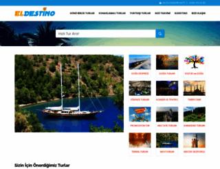 eldestino.com.tr screenshot