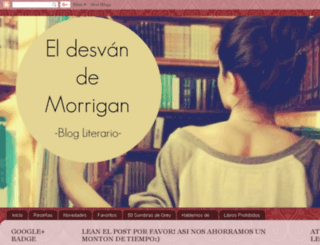 eldesvandemorrigan.blogspot.com.ar screenshot