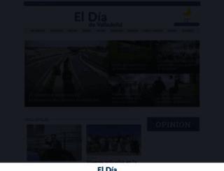 eldiadevalladolid.com screenshot