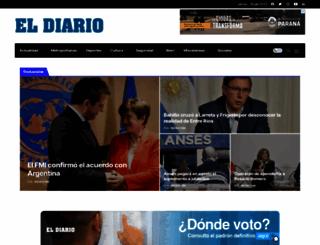 eldiario.com.ar screenshot