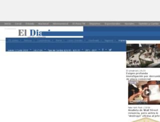 eldiariodechihuahua.com.mx screenshot