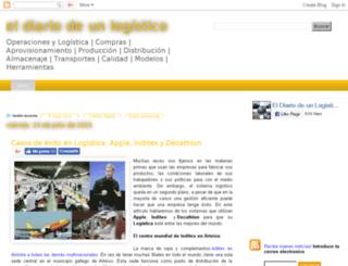 eldiariodeunlogistico.blogspot.com.es screenshot