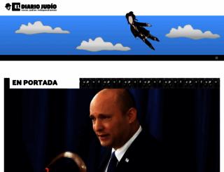 eldiariojudio.com screenshot