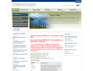 eldoradocourt.org screenshot