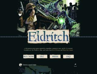 eldritchgame.com screenshot
