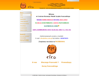elea.com.pl screenshot
