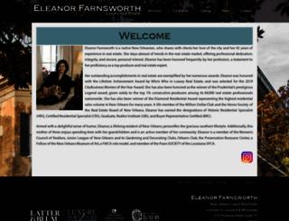 eleanorfarnsworth.com screenshot