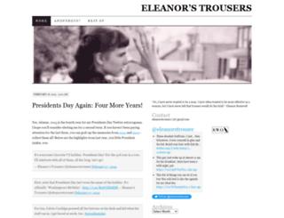 eleanorstrousers.wordpress.com screenshot