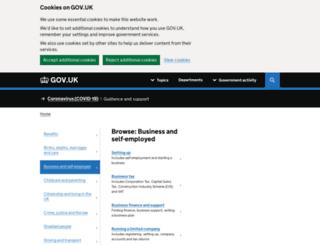 elearning.businesslink.gov.uk screenshot