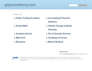elearning.gapsacademy.com screenshot