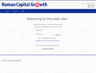 elearning.humancapitalgrowth.com screenshot