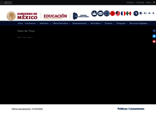 elearning.itver.edu.mx screenshot