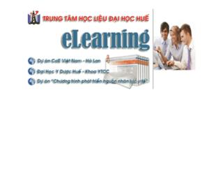 elearning.lrc-hueuni.edu.vn screenshot