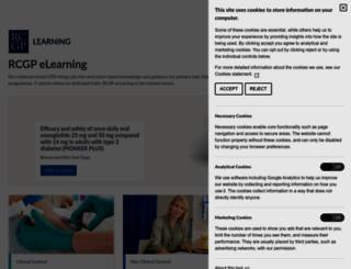 elearning.rcgp.org.uk screenshot