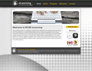 elearning.rcsdk12.org screenshot