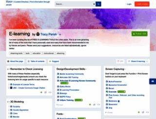 elearning.zeef.com screenshot