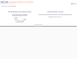 elearningcenter.nicheprogram.org screenshot