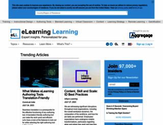 elearninglearning.com screenshot