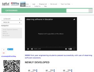elearningsofttech.com screenshot