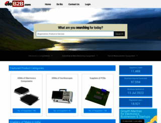 eleb2b.com screenshot