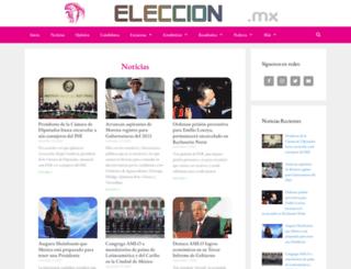 eleccion2012mexico.com screenshot