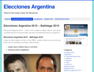 elecciones-2015.com screenshot