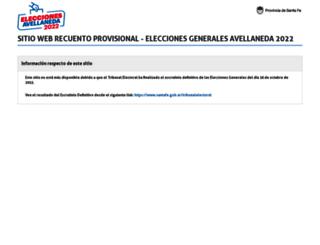 elecciones.santafe.gov.ar screenshot