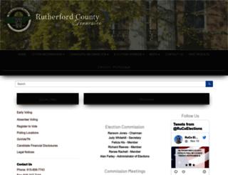 election.rutherfordcountytn.gov screenshot
