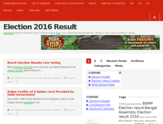 election2015.in screenshot
