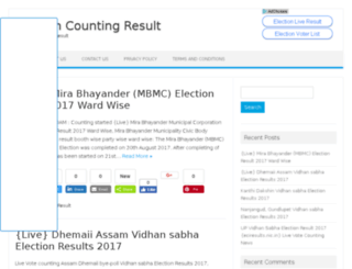 electionliveresults.com screenshot