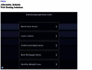 electionprojection.com screenshot